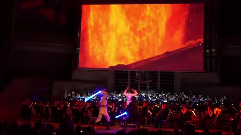 [School of Saberfighting] Star Wars Concert Anakin vs Obi-Wan