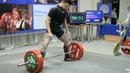 Становая тяга 247.5 Рекорд Украины среди юношей 74 кг
