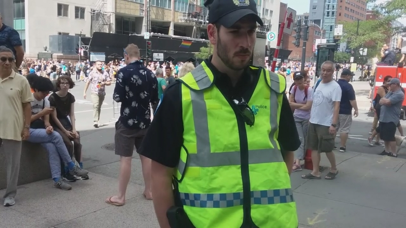 Gay Pride Aug 19 HSS City.. Police Intervention Attempt 3