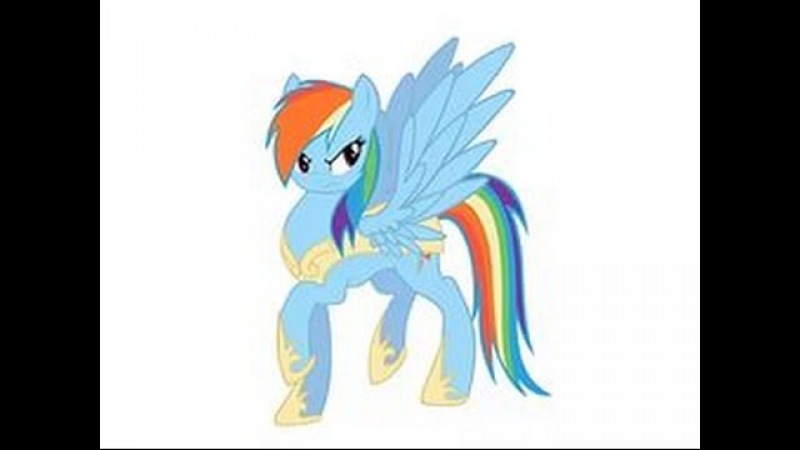 MLP Speedpaint: Rainbow Dash