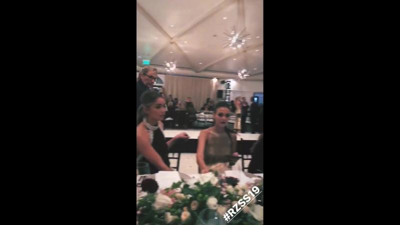 Хлоя на модном показе Рейчел Зоуи Лос-Анджелес 5 сентября, 2018