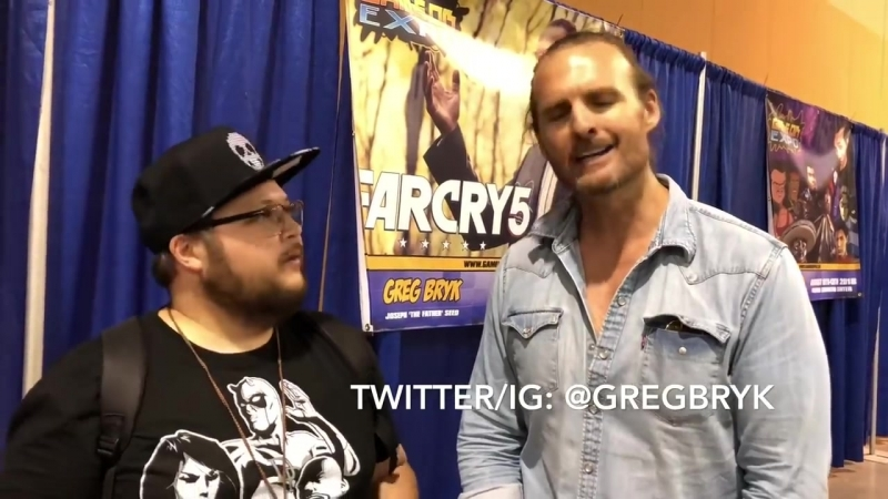 Greg Bryk (Joseph The Father Seed in Far Cry 5) Game On Expo 2018 Interview