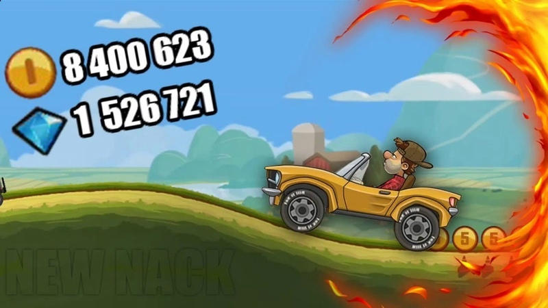 Hill Climb Racing 2 HACK - CHEAT 2018 10000000 GOLD AND LVL CAR
