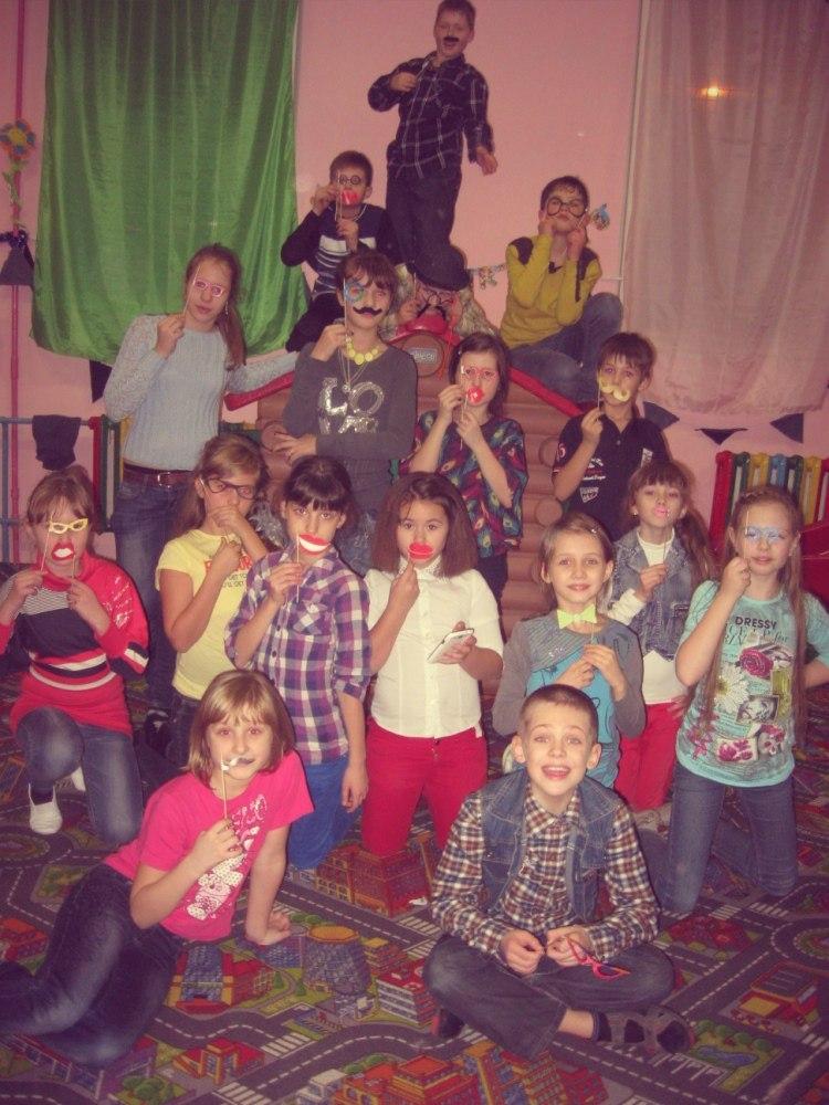 Джинсовая вечеринка детский праздник Запорожье в Апельсине