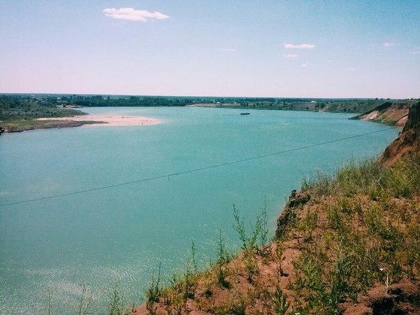 Самарское голубое озеро ростовская область схема проезда