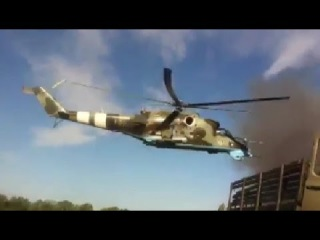 Ukraine Conflict - Ukrainian Attack Helicopters Strike Friendly Positions During Heavy Fighting