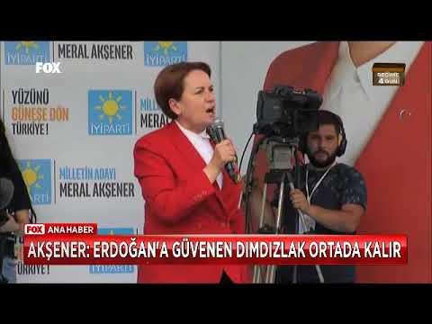 Meral Akşener Dımdızlak Ortada Kalırsınız Helede Erdoğana Güvenirseniz