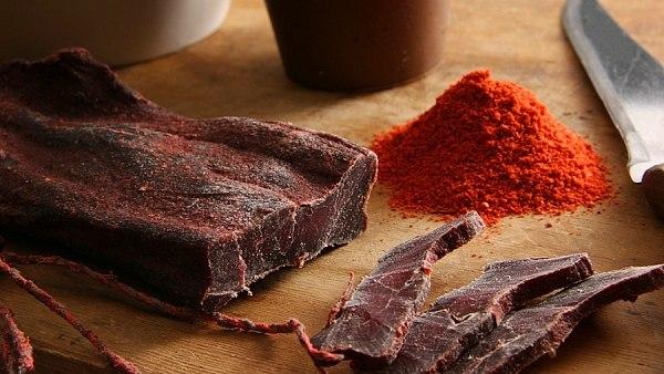 Как сделать вяленое мясо в майнкрафт