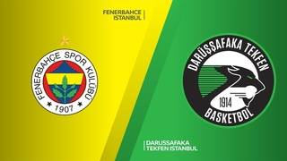 Fenerbahce Istanbul - Darussafaka Tekfen Istanbul Highlights Turkish Airlines EuroLeague RS Round 8