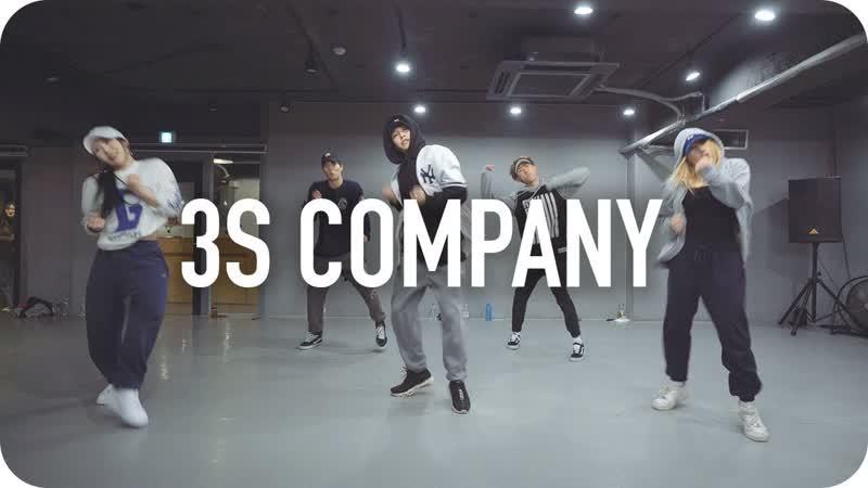 1Million dance studio 3's Company - Snoop Dogg (ft. Chris Brown OT Genesis) / Junsun Yoo Choreography