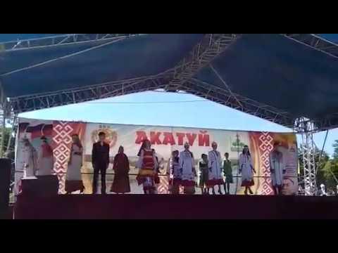 Дефиле чувашских костюмов. ФХП