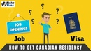 Make Visas | How To Get Canadian Residency without a JOB