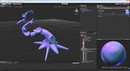 Tentacle from Modo to Unity timelaps 2