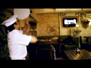 Пицца-акробатика. Мастер класс от чемпиона России по пицце