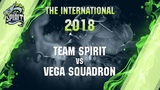 Team Spirit vs Vega Squadron - The International 2018 Highlights