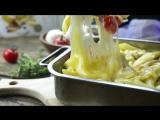 Как приготовить запеканку? Запеканка из пасты с курицей и грибами | Простой рецепт