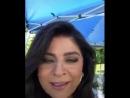 Мини liveinstagram от нашей королевы victoriaruffo