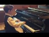 Серхио играет 6 произведений для экзамена по фортепиано (Хоровое Училище им. Глинки)