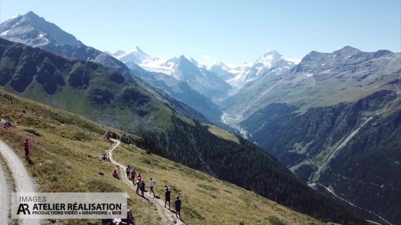 Sierre Zinal Considerée comme une des plus belles courses de montagne du monde 31 km 2200 m de montée 1100 m de descente