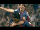 Самый первый гол Месси за Барселону.