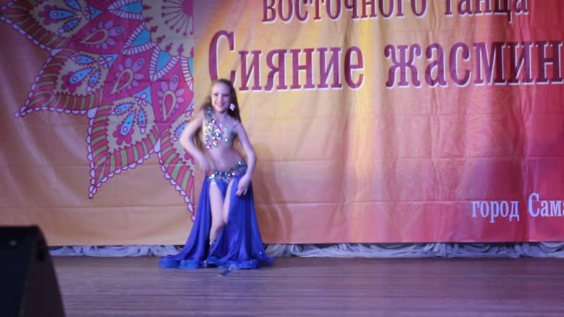 Виктория Глухова ориенталь дети 1 продолжающие Сияние Жасмина 2019