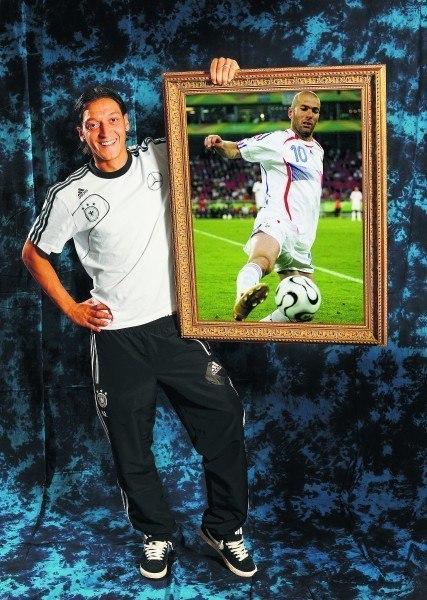 Mesut Özil und sein Idol Zidane