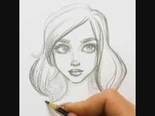 Учимся рисовать лица. Для начинающих