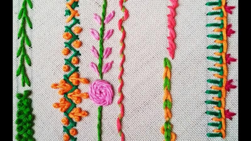 175 Basic stitches for beginners Hindi Urdu