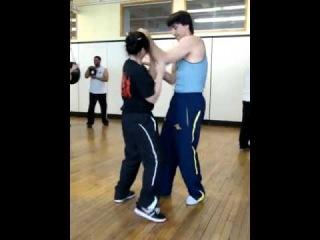 Master Emin Boztepe & Sifu Xuan Mai