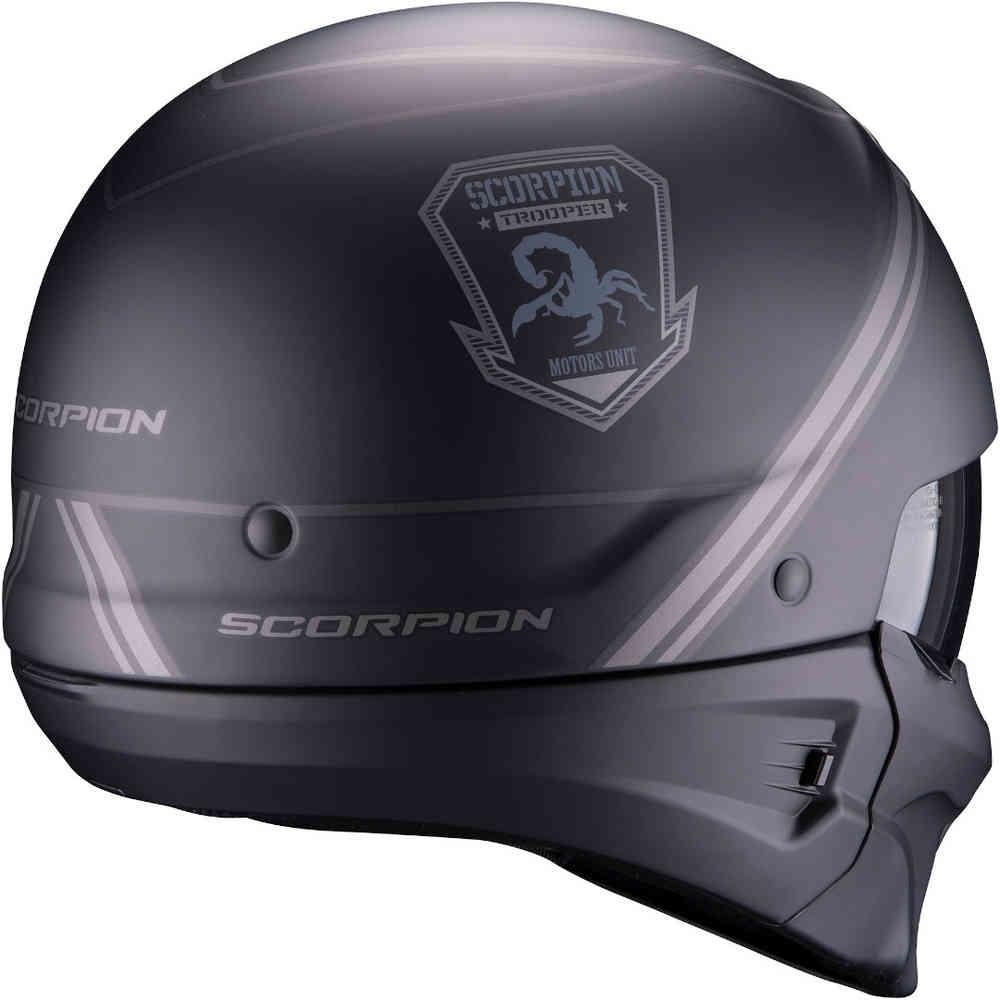 Новый мотошлем Scorpion Exo-Combat Evo