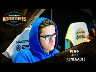 DreamHack Masters Las Vegas 2017 North America Closed Qualifier: Pimp vs. Renegades