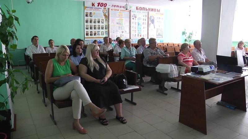 На базі Подільської міської лікарні відбувся семінар акушерів-гінекологів