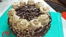 Торт для нашей Леночки! Шоколадный с Кофейным Кремом.
