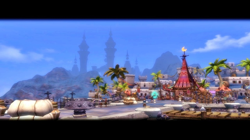 DRAGON NEST - NEW MERCA PORT