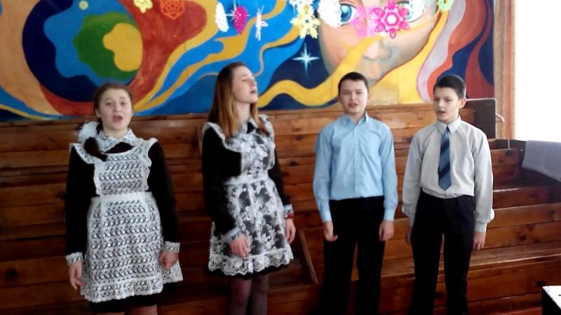 Муз. Ю.Чичкова, ст. М. Пляцковского Эх,зима исполняет вокальный ансамбль Вдохновение