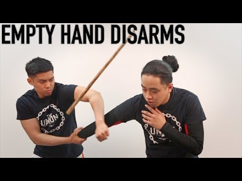 EMPTY HAND DISARMING   TECHNIQUE TUESDAY