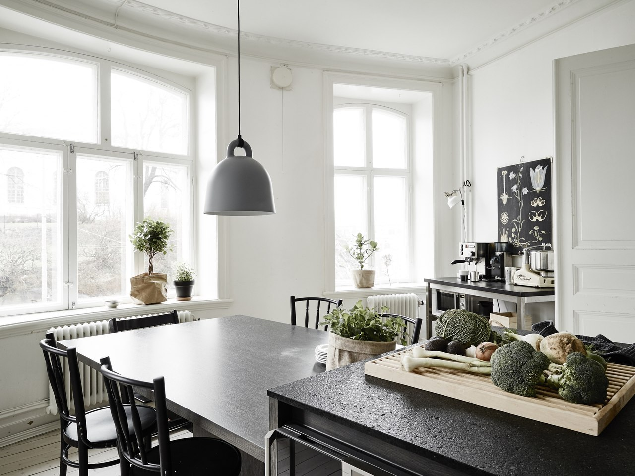Дизайн интерьера двухкомнатной квартиры в скандинавском стиле