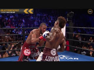 Blast From The Past: Jermall Charlo KOs Julian Williams