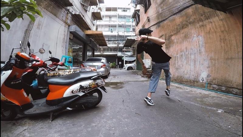 Ian Eastwood Freestyle in Bangkok Thailand | Tuxedo Groove - Tuxedo (Prod by: Jake One)