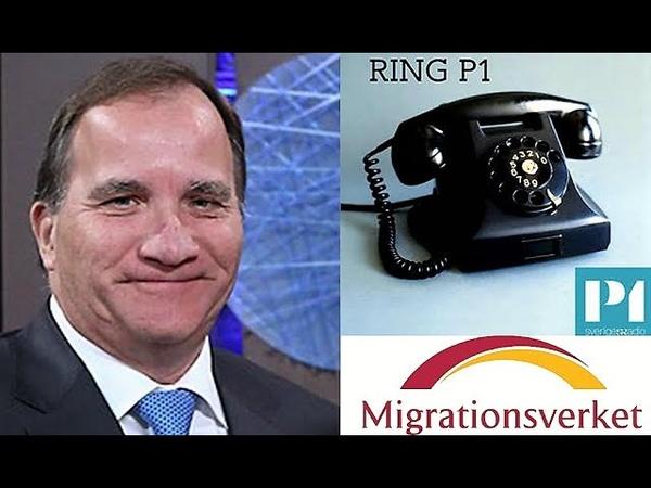 Kvinna kuppade Ring P1. Pratade om FNs migrationsavtal, Global compact