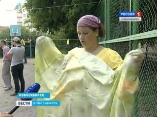 Вести Россия1 II Миничемпионат по простынболу. Фестиваль Творец 2014.