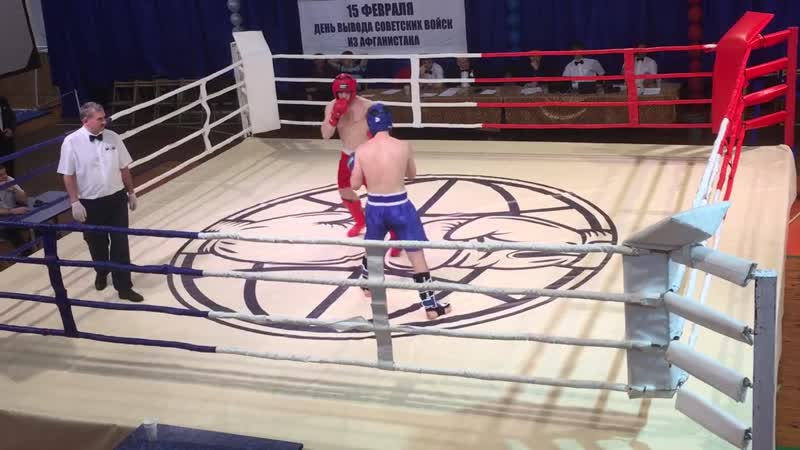 2 раунд Тюрин Антон 2000 г. р. - Юдин Евгений 71 кг Полуфинал ЦФО, Липецк 16.02-2019.