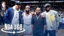 Dwyane Wade's Farewell | LeBron James, Chris Paul, and Carmelo Anthony in Attendance #NBANews #NBA #Heat #DwyaneWade