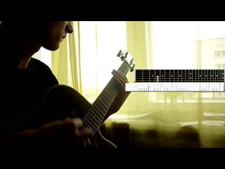 Skillet Rise acoustic guitar cover, with tabs)