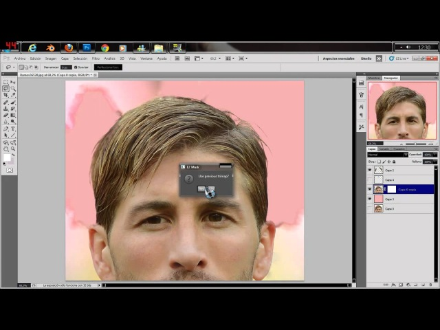 Tutorial Para Recortar Pelos Para pes 2013 - Tutorial Trimming Hair for PES 2013 (3) - By Teiker17