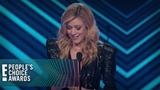 Katherine McNamara Wins Female TV Star E! People's Choice Awards