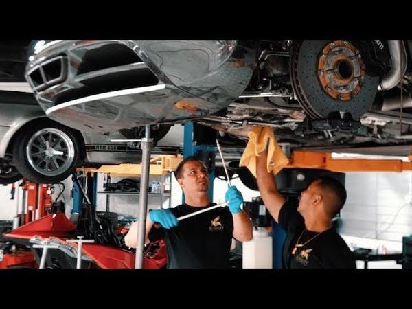 Bugatti Veyron $21K Oil Change .. Ehhh, Ill do it Myself !