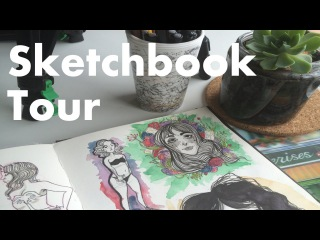 Sketchbook tour || The Art Of Lorelei