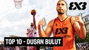 Is Dusan Bulut the most skillful 3x3 basketball player Top 10 Plays of 2017