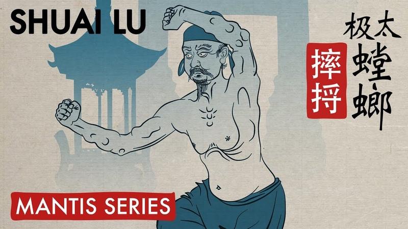 Taiji mantis kung fu form Shuai Lu tutorial trailer